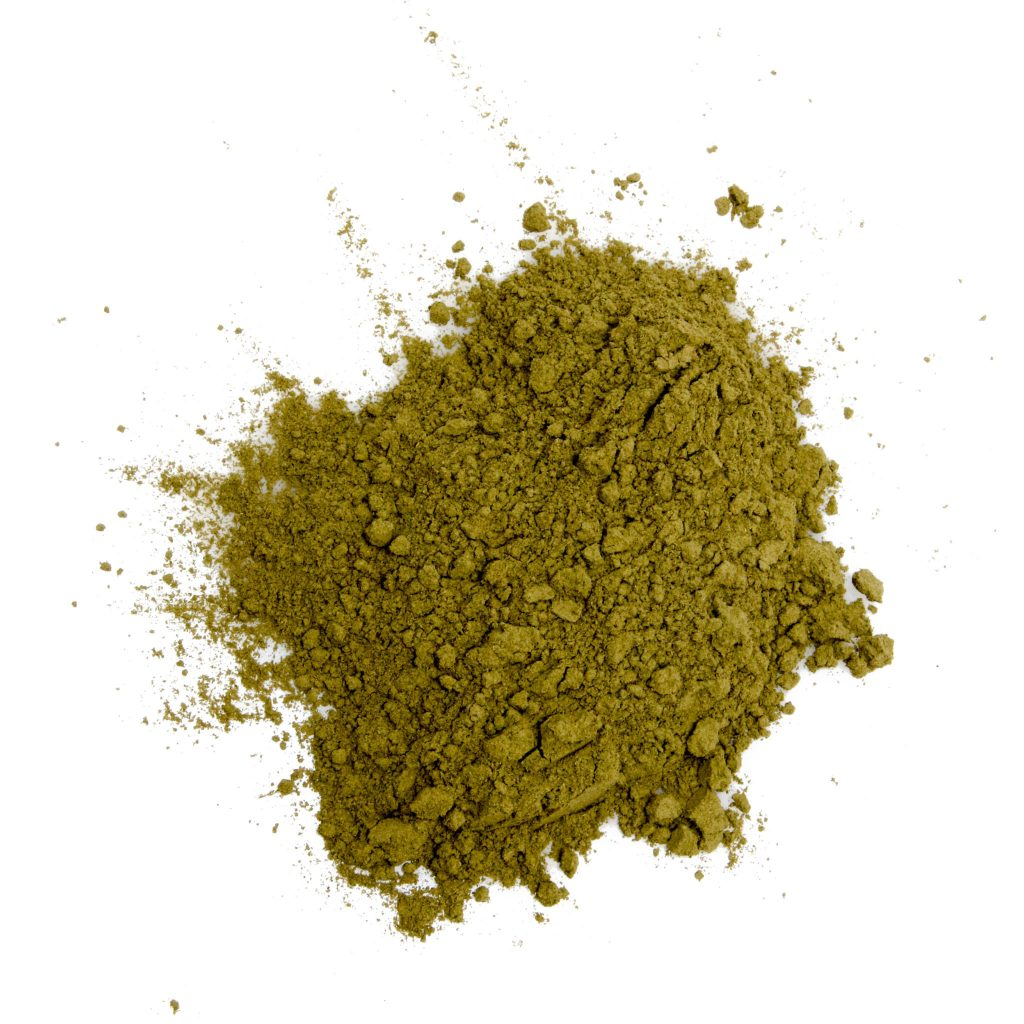 kratom powder green